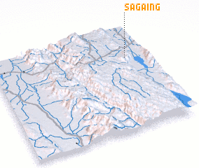 3d view of Sagaing