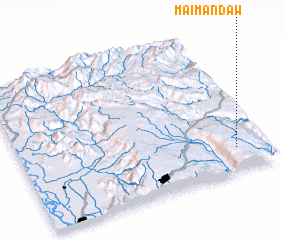 3d view of Maimandaw