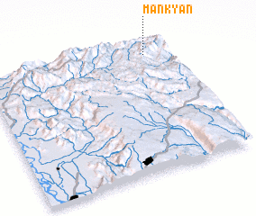 3d view of Mánkyán
