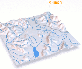 3d view of Shibao