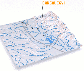 3d view of Bawgalegyi