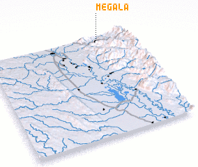 3d view of Mègala