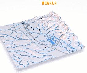 3d view of Mègala