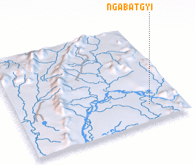 3d view of Ngabatgyi