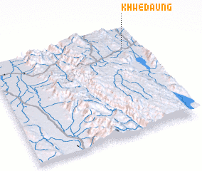 3d view of Khwedaung