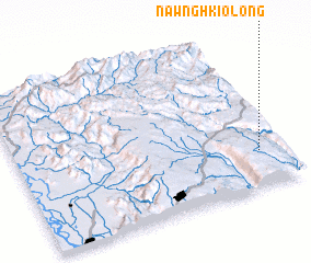 3d view of Nawnghkio-long