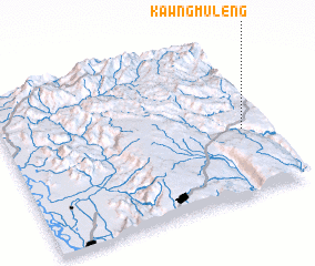 3d view of Kawngmuleng