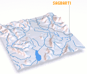 3d view of Sagbarti
