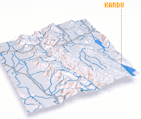 3d view of Kandu