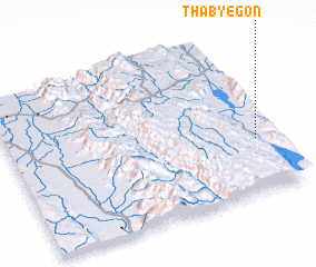 3d view of Thabyegon