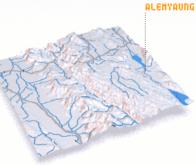 3d view of Alemyaung