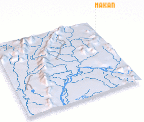 3d view of Makan