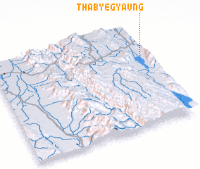 3d view of Thabyegyaung