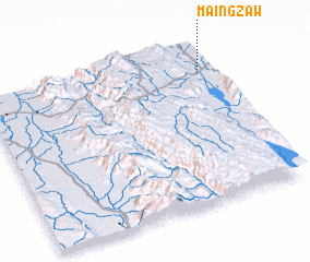 3d view of Maingzaw