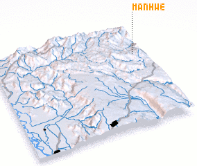 3d view of Manhwe