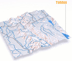 3d view of Tunnui