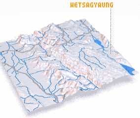3d view of Wetsagyaung