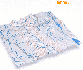 3d view of Konbaw