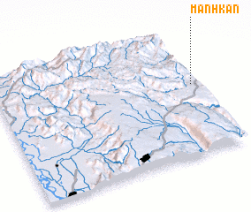 3d view of Mánhkán