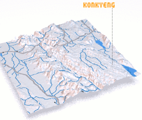 3d view of Konkyeng