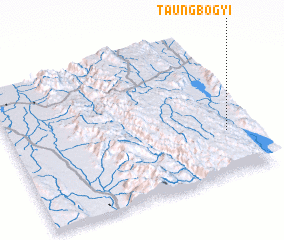3d view of Taungbogyi