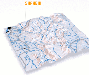 3d view of Shawbin