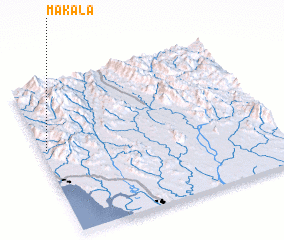 3d view of Makala