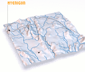 3d view of Myenigon