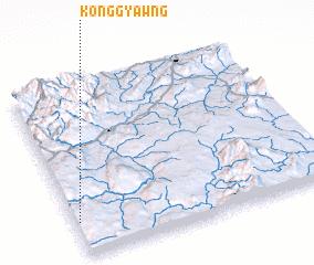 3d view of Köng-gyawng