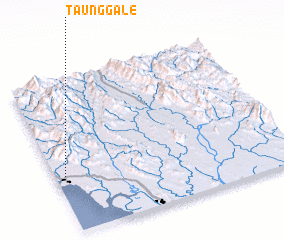 3d view of Taunggale