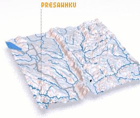 3d view of Prè-sawhku