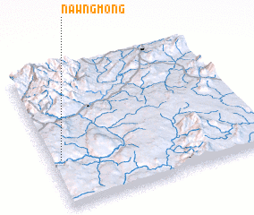 3d view of Nawngmöng