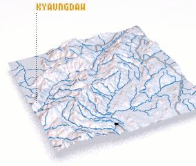3d view of Kyaungdaw