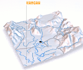 3d view of Kamgaw