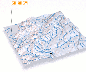 3d view of Sikangyi