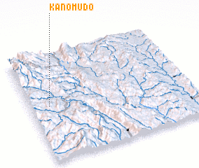 3d view of Kanomudo