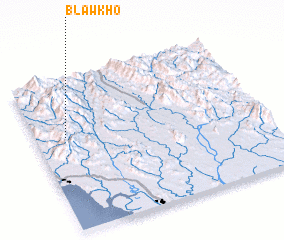 3d view of Blawkho