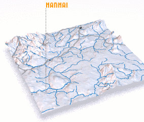 3d view of Mānmai