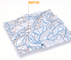 3d view of Mān Tai