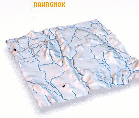 3d view of Nawng Mok