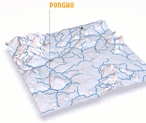 3d view of Pongwo