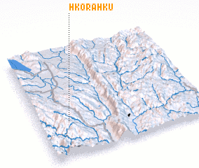 3d view of Hko-ra-hku
