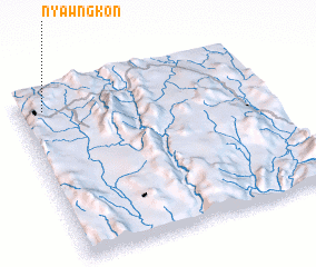 3d view of Nyawngkon