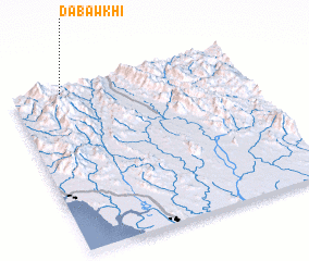 3d view of Dabawkhi