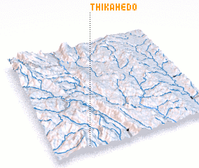3d view of Thikahedo