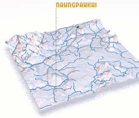 3d view of Nawngpawkwi