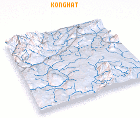 3d view of Könghat