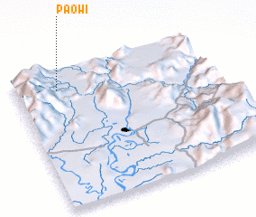 3d view of Paowi