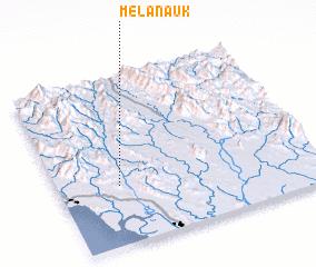 3d view of Melan-auk