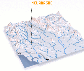 3d view of Melan-ashe